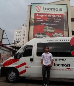 """""""O site criado pela Aprimorar é o que mais gera receita para a empresa hoje"""", revela Rafael César Guimarães, proprietário da Locmais"""