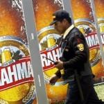 Ambev  Setor: Bebidas  Valor de mercado em 28 de fevereiro de 2014: R$ 264 bilhões  Quanto ganhou em valor de mercado em fevereiro: R$ 12,3 bilhões