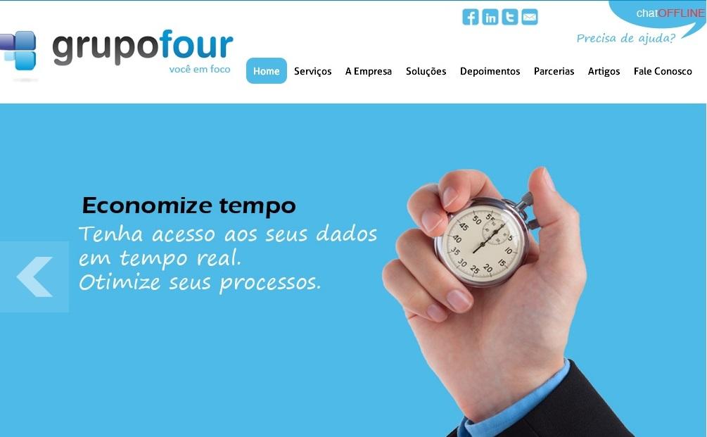 Criação de sites Rio de Janeiro Grupo Four
