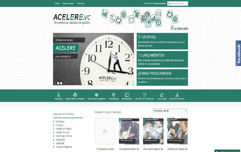 acelere.vc site