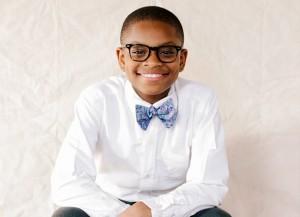 Moziah Bridges vende gravatas em sete estados americanos (Foto: Divulgação)