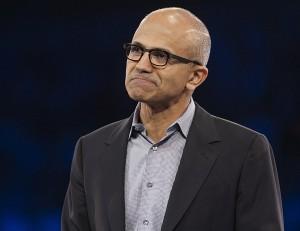 Satya Nadella, presidente-executivo da Microsoft (Foto: Microsoft/Reuters)