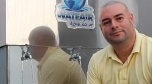 Pedro Ricardo Paulino, 45 anos, criador da Wateair (Foto: Divulgação/Wateair)